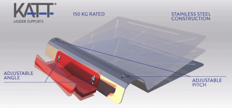 Info - Height Safety Ladder Bracket Sydney - Safe Roof Systems - Small