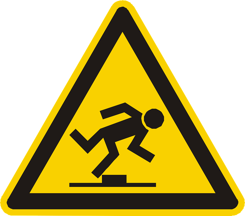 Trip Hazard Sign - Fall Safety - Secure Height Systems - Sydney NSW