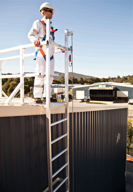 Vertical Line Ladder - KATT - ROOF SAFETY - SYDNEY NSW - ROOF SAFETY - Small