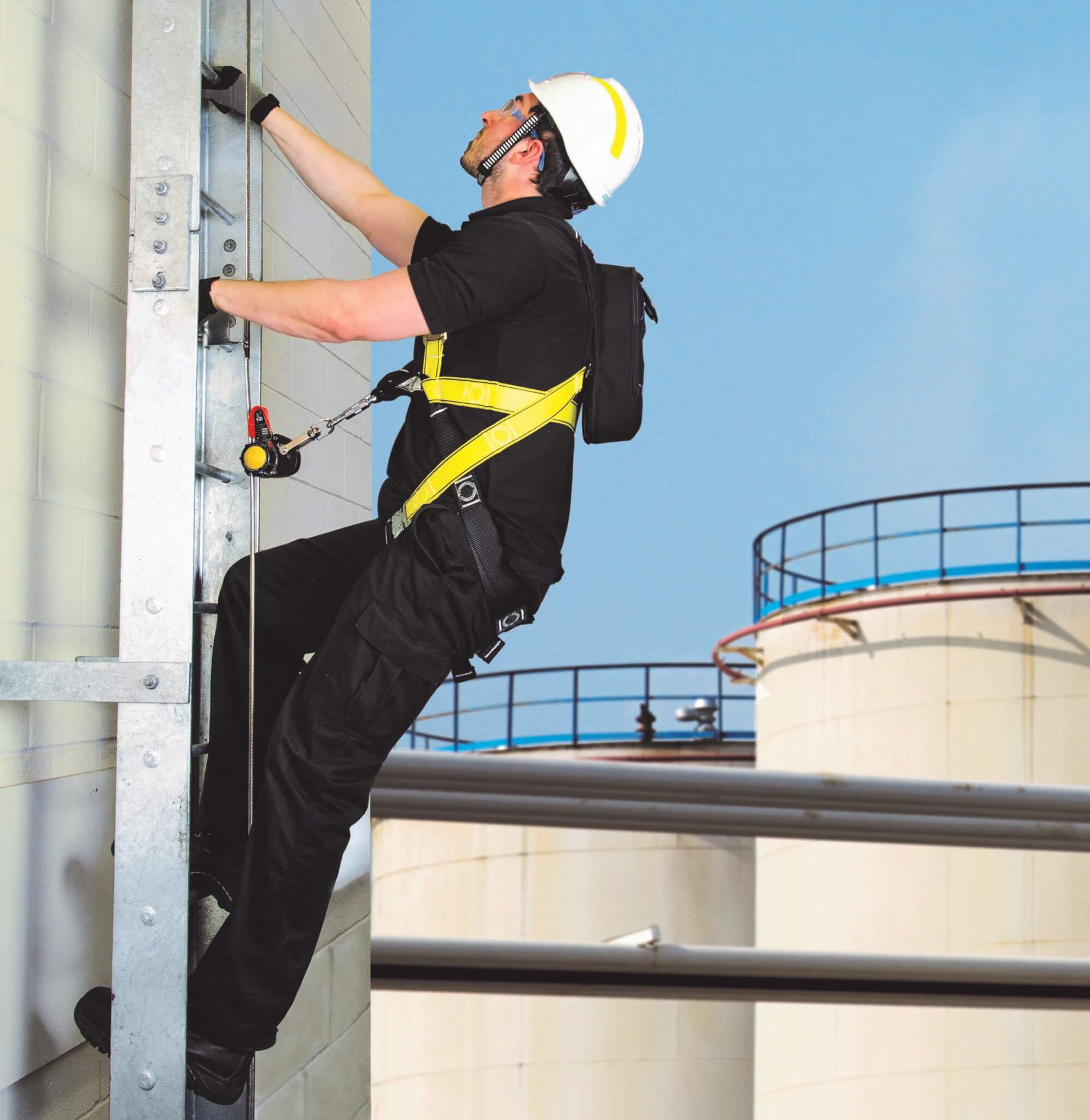 Vertical Line Ladder - Roof Safety - Small