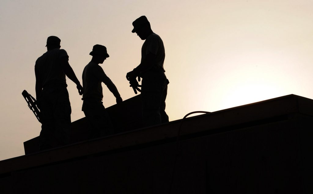Workers on Roof - Height Safety - Roof Safety - Sydney NSW