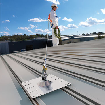 Anchor Point 4- 370 x 370 - Height Safety Sydney