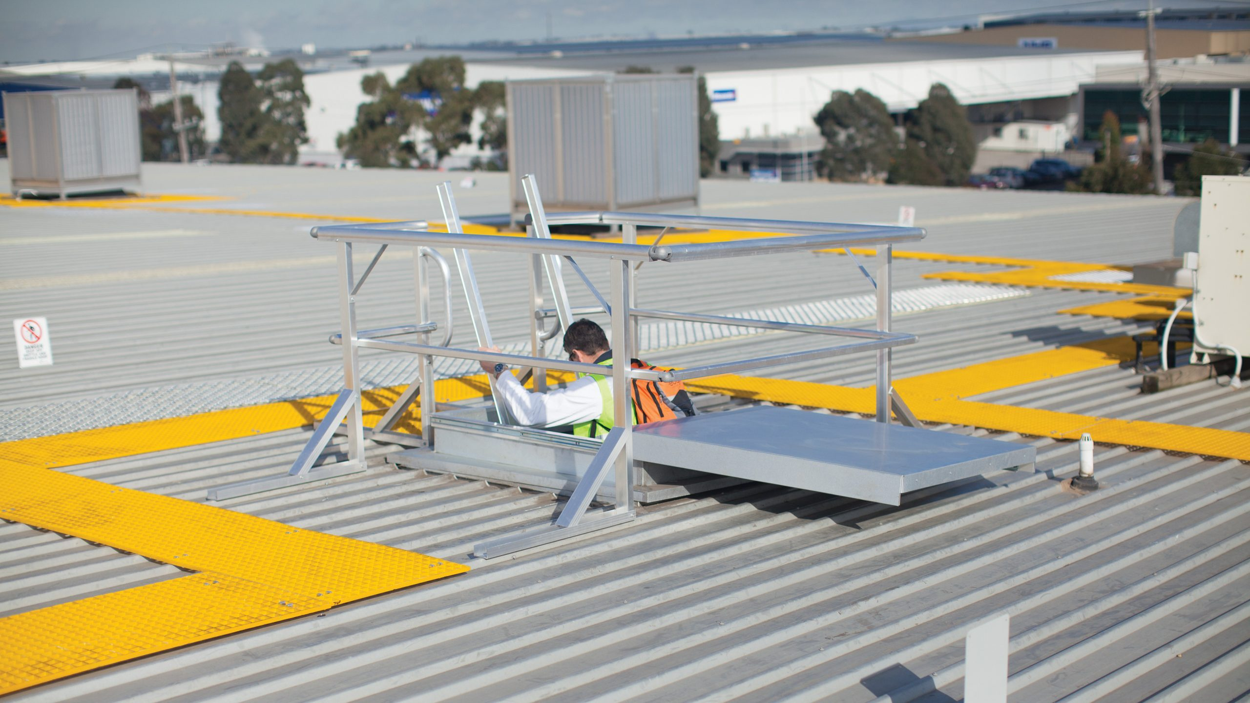 Guardrail Kit for Access Hatch - Height Safety System - Sydney