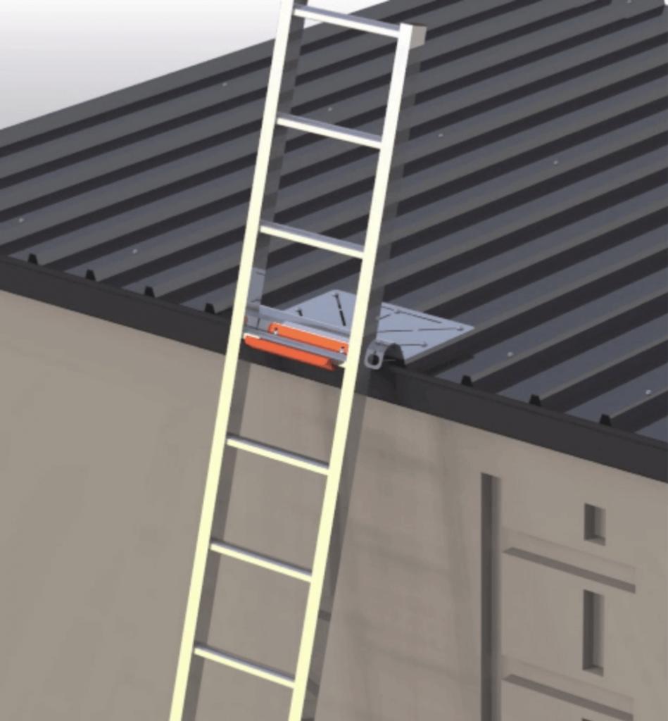 Ladder Bracket in Use - Katt - Sydney - Small