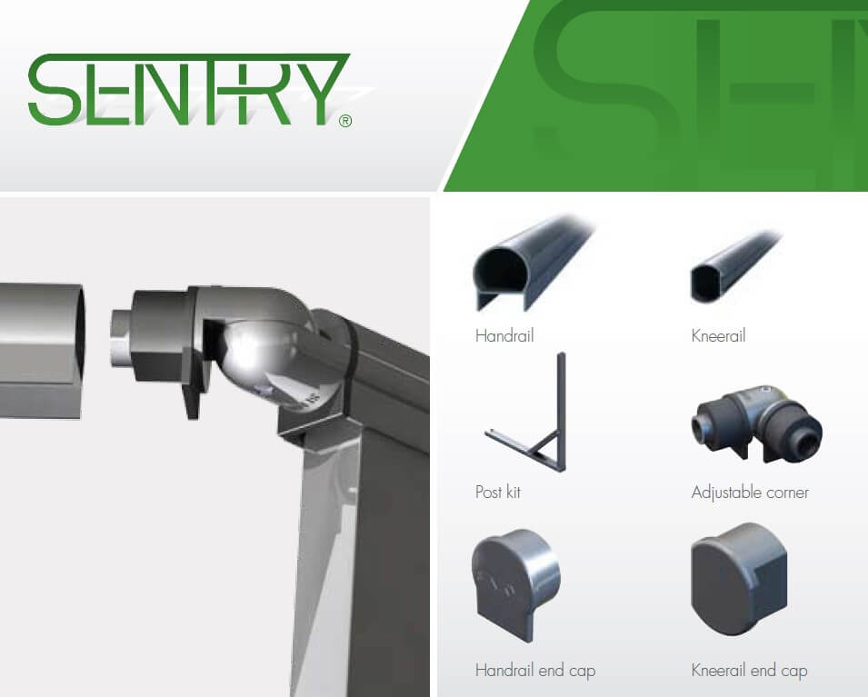 Sentry Guardrail Components - Secure Height - Small