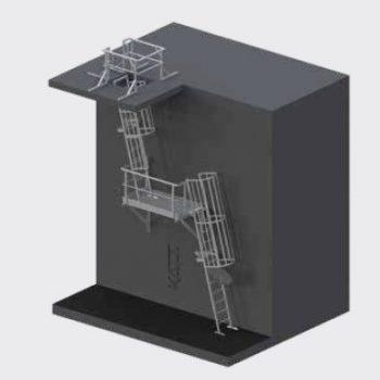Katt Access Ladders LD35