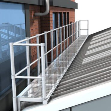 Levelled Walkway - Roof Safety - Walkway & Guardrail - Sydney Roof Safety - Height Safety